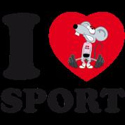 i love sport [black]